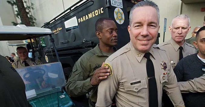 LA County Sheriff Alex Villanueva