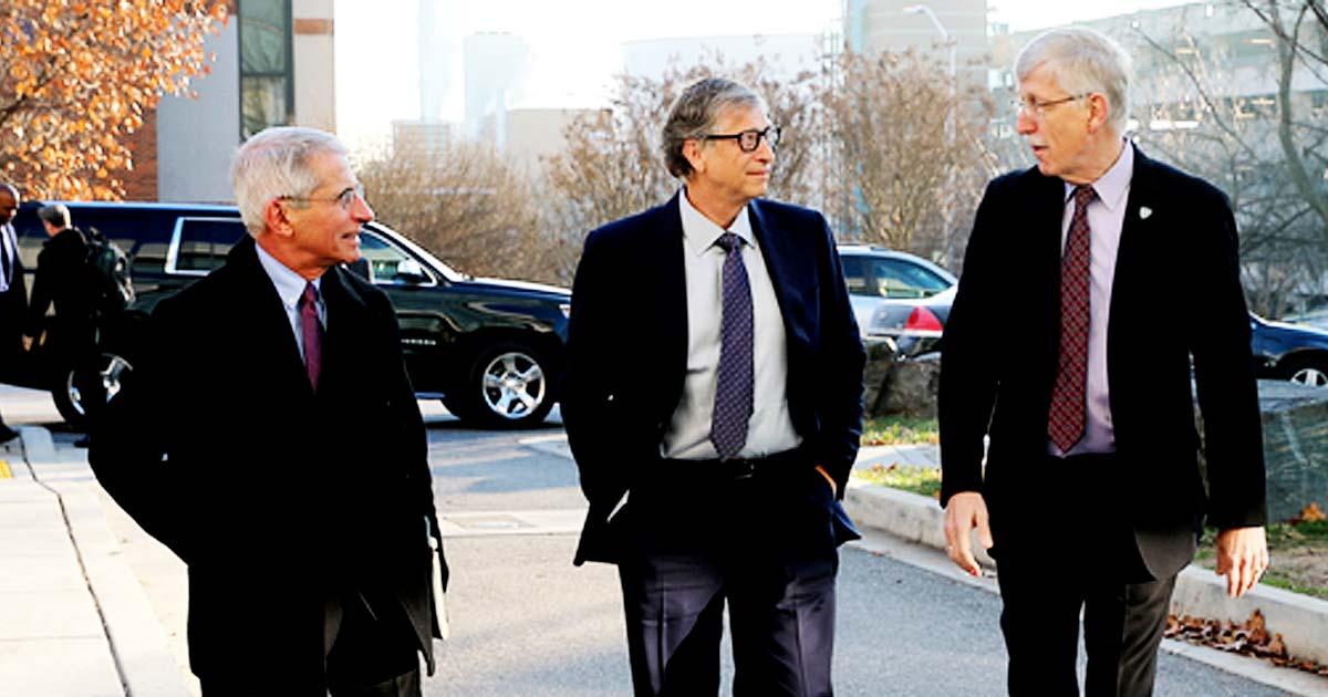 Dr. Fauci Bill Gates