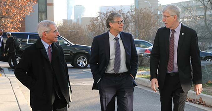 Dr. Anthony Fauci and Bill Gates