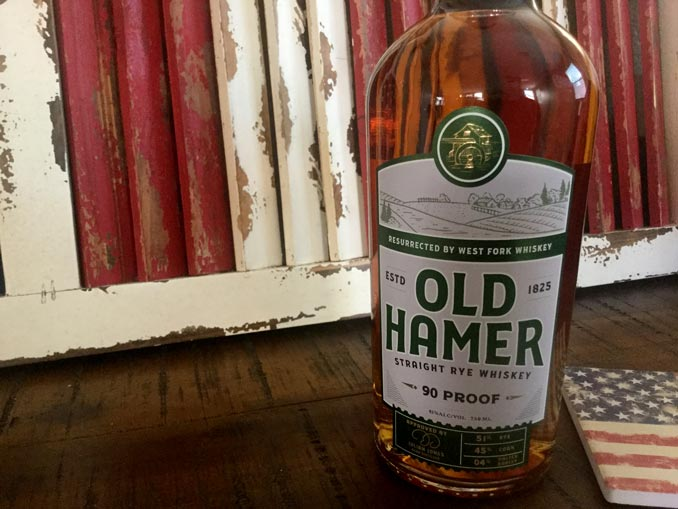 Old Hamer Straight Rye Whiskey