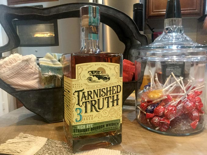 Tarnished Truth High Rye Bourbon