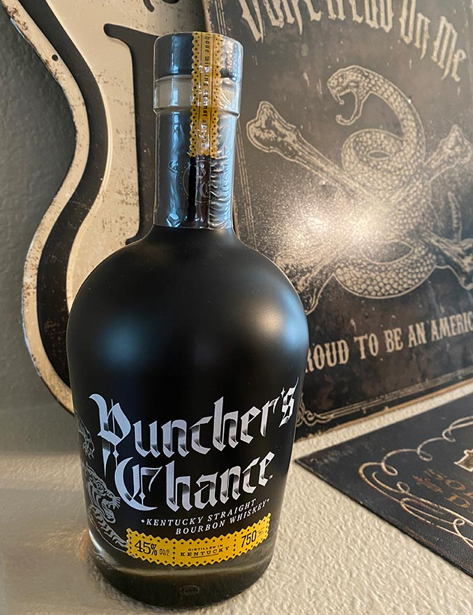 Puncher's Chance Whiskey