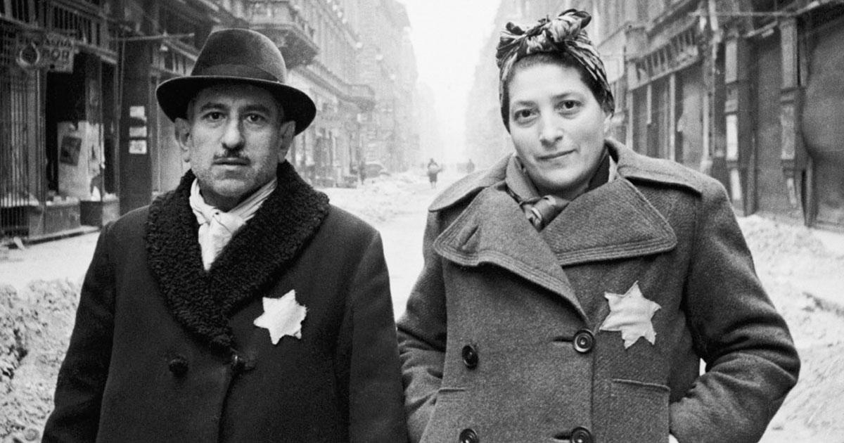 Jews Wearing Star Badge