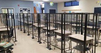 Plexiglass Classrooms