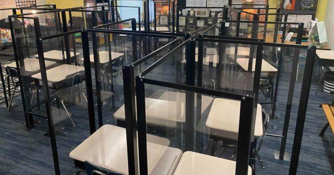 Schools look like prisons