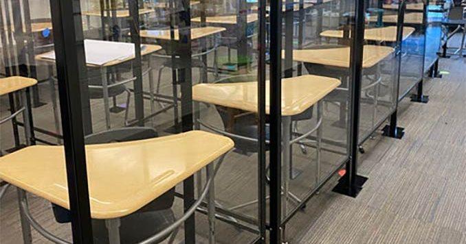 Plexi classrooms