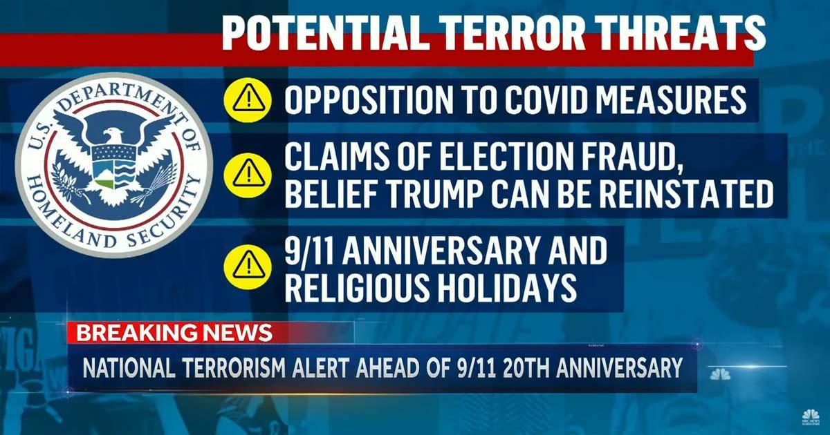 DHS Alert
