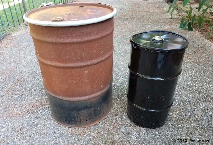 35 and 55-gallon drum