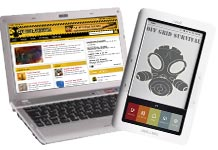 Survival Laptop and Nook Tablet