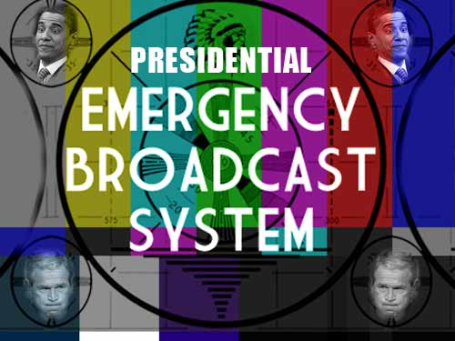 presidential emergency broadcast system
