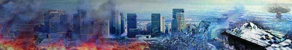 artist rendition of apocalypse in 2012